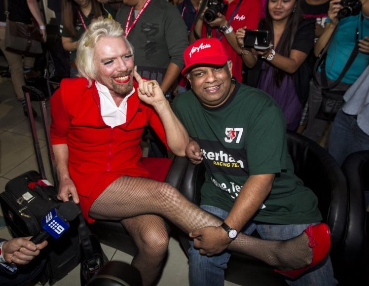 Richard Branson Air Asia Bet